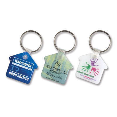 Picture of House Flexi Resin Key Ring
