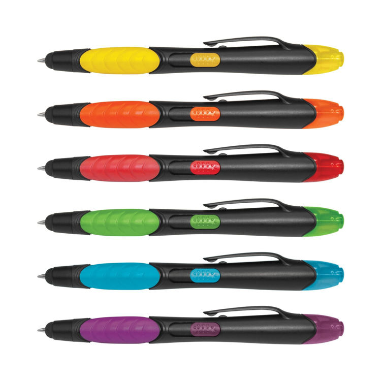 Picture of Nexus Multifunction Pen - Black Barrels