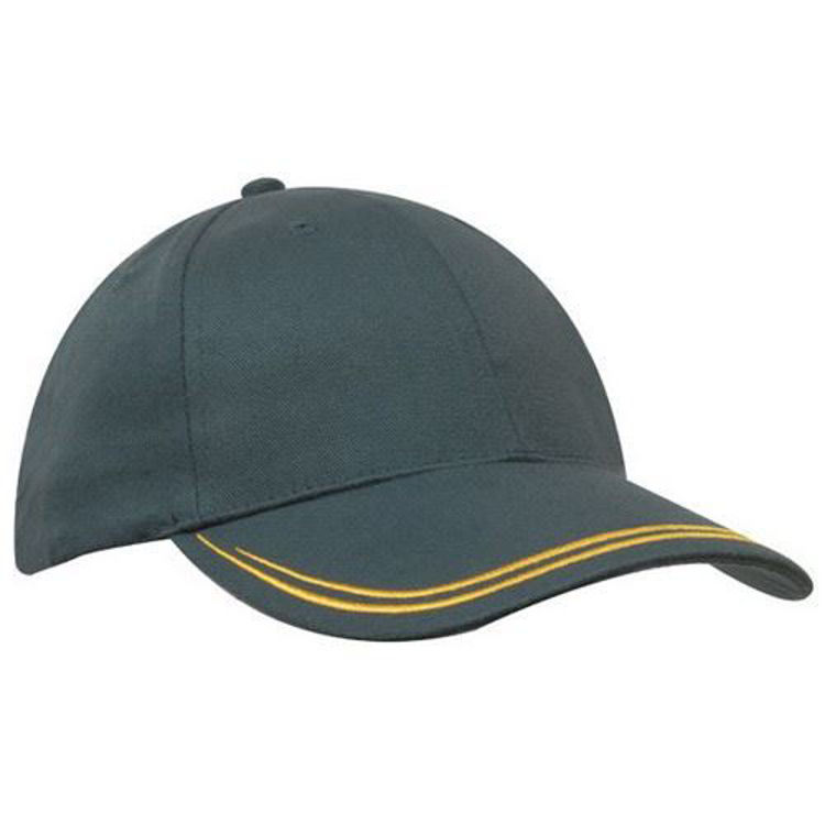 Picture of Brushed Heavy Sports Twill with Double Stripe