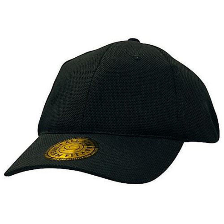"Picture of Double Pique Mesh ""Dream Fit"" Fitted Cap"
