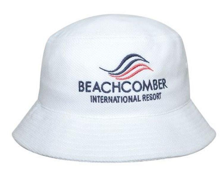 Picture of Double Pique Mesh Bucket Hat