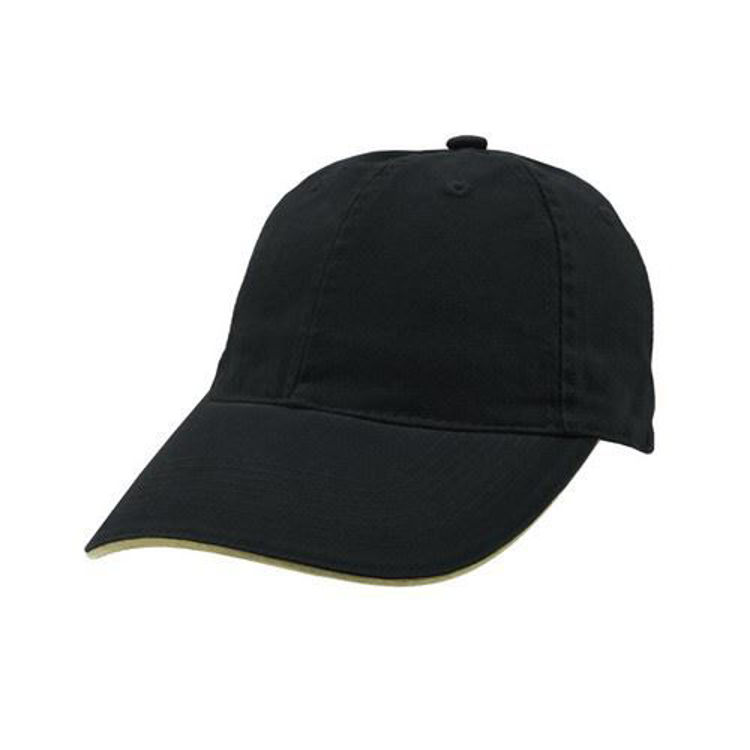 Picture of Enzyme Washed Cap with Sandwich