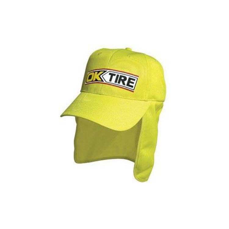 Picture of Luminescent Safety Hi Vis Cap with Flap