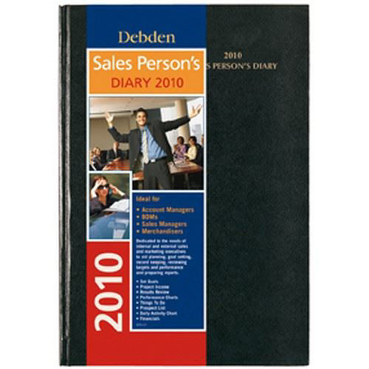 Picture of Debden Salespersons Diary A4 Day to Page