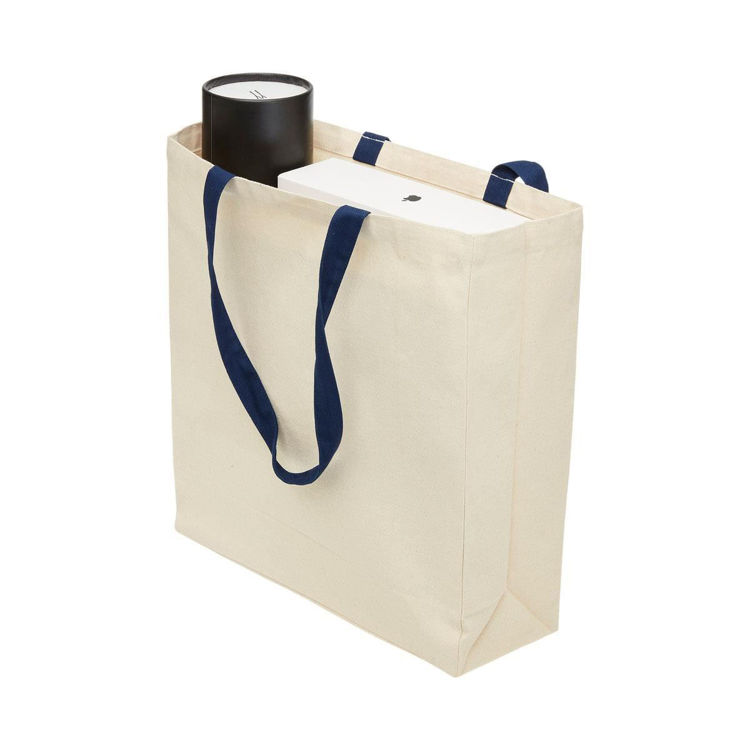 Picture of HEAVY DUTY CANVAS TOTE WITH GUSSET