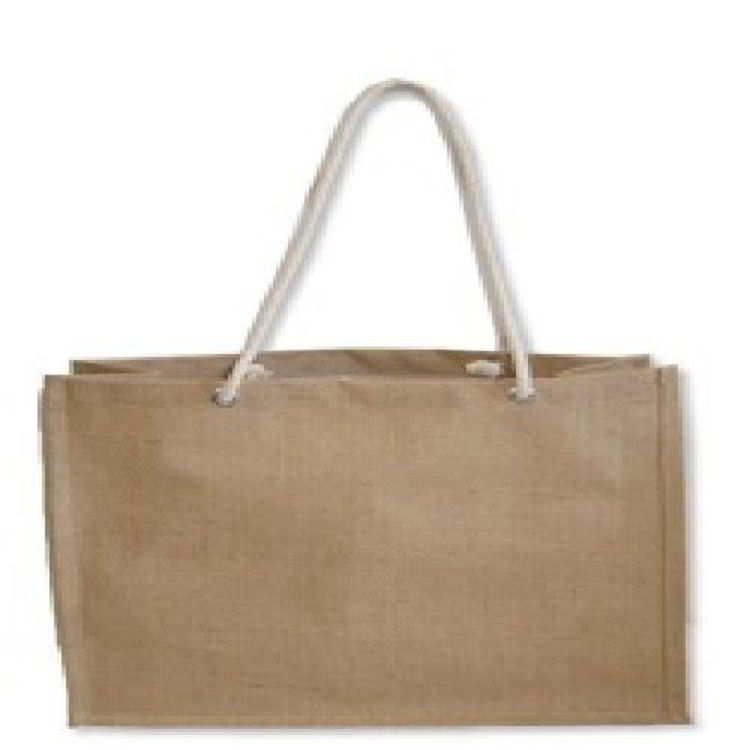 Picture of Jute UK Carry Bag - Long Rope Handle