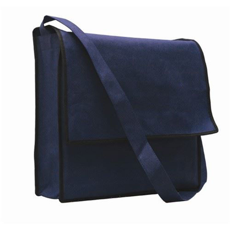 Picture of NON WOVEN FLAP SATCHEL
