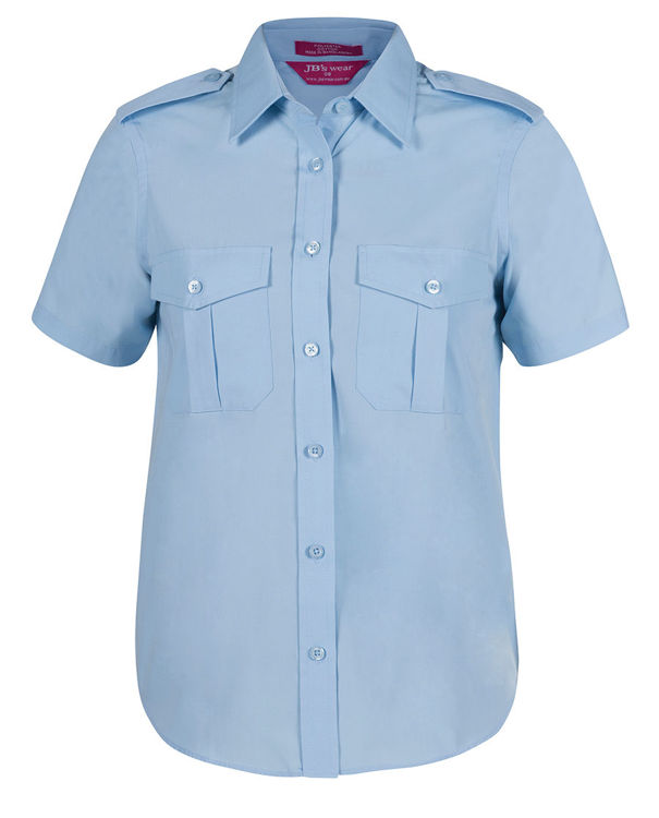 Picture of JB's LADIES S/S EPAULETTE SHIRT