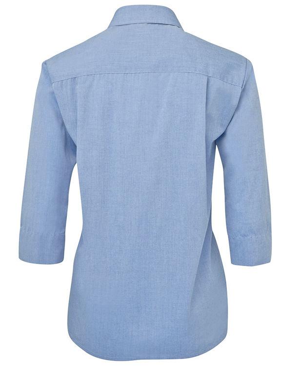 Picture of JB's LADIES ORIGINAL 3/4 FINE CHAMBRAY SHIRT