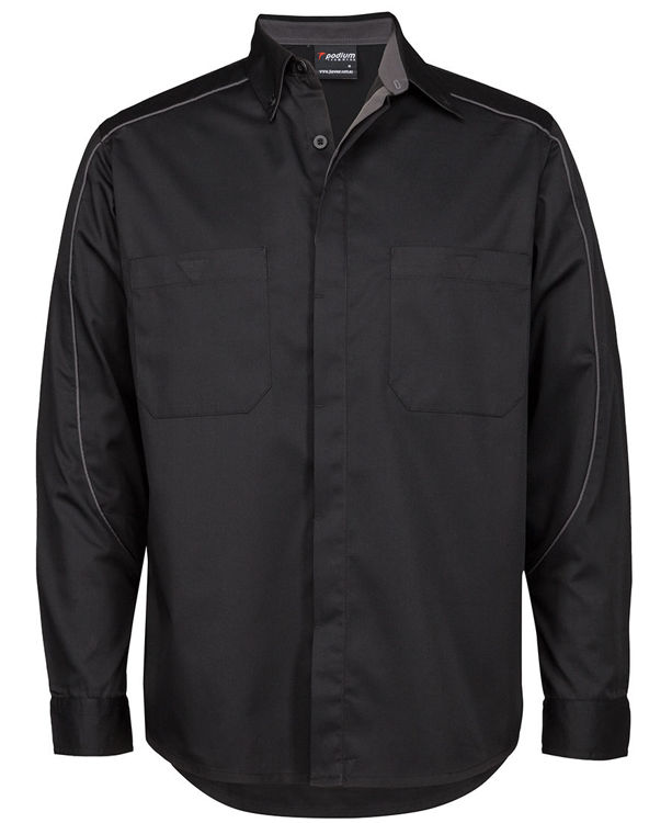 Picture of PODIUM L/S INDUSTRY SHIRT