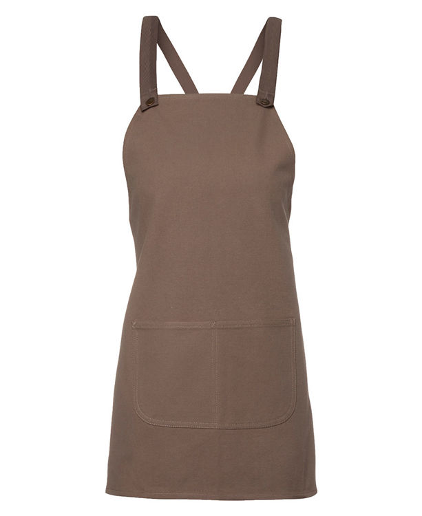 Picture of JB's CROSS BACK 65x71 BIB CANVAS APRON (WITHOUT STRAP)