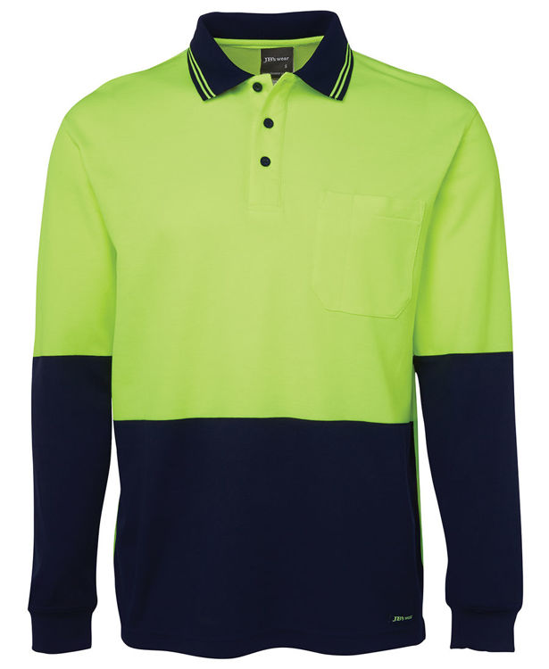 Picture of JB's HV L/S COTTON BACK POLO