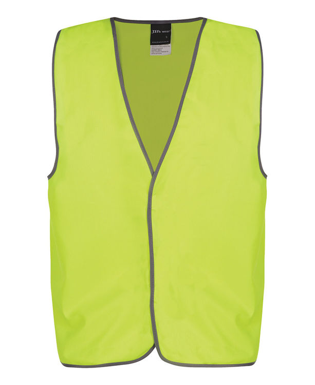 Picture of JB's HV SAFETY VEST PRINT VISITOR