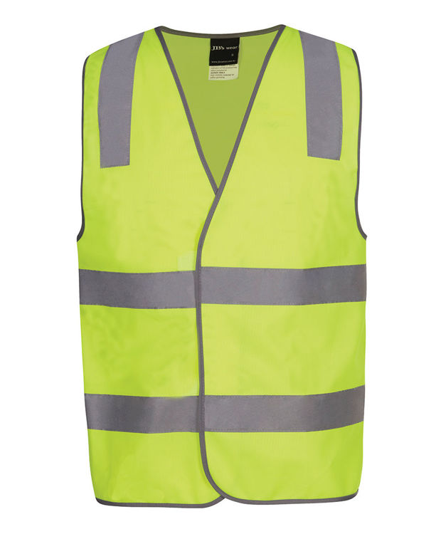 Picture of JB's HV (D+N) SAFETY VEST PRINT VISITOR