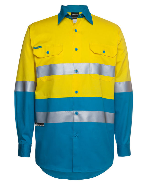 Picture of JB's HV L/S (D+N) 150G WORK SHIRT
