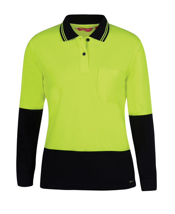 Picture of JB's LADIES HV L/S COMFORT POLO