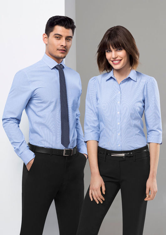 Picture of Ladies Euro 3/4 Sleeve Shirt