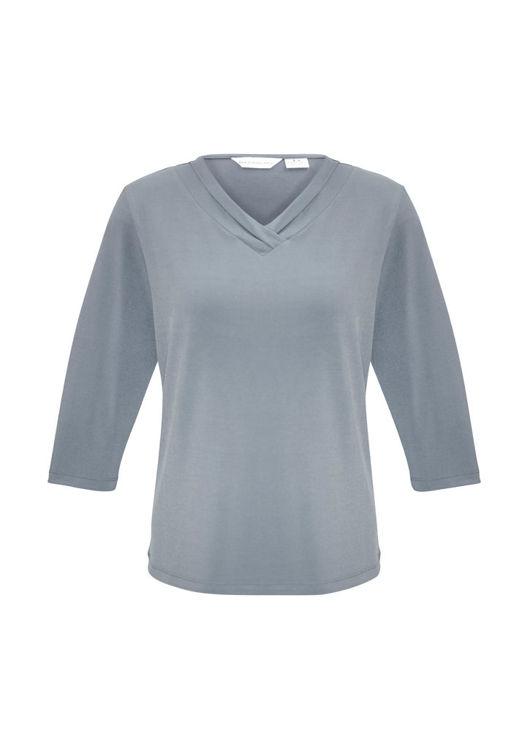 Picture of Ladies Lana 3/4 Sleeve Top