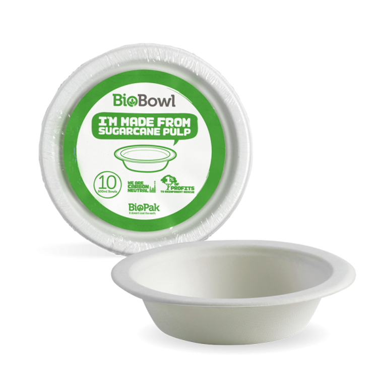 Picture of 500ml bowls - 10pk - white