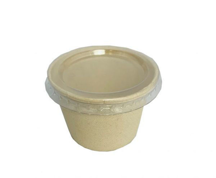 Picture of BetaEco PET Lid for 4oz Portion Container - 1000/c