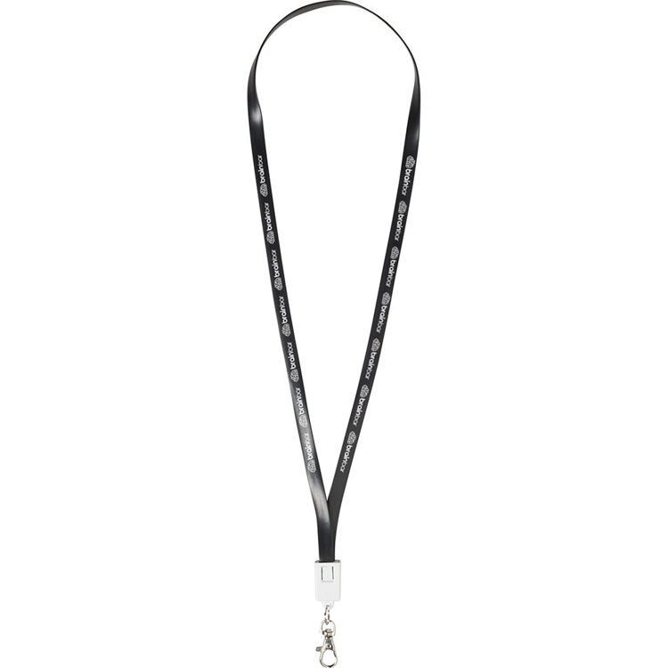 Picture of Charging Cable Lanyard with Clips